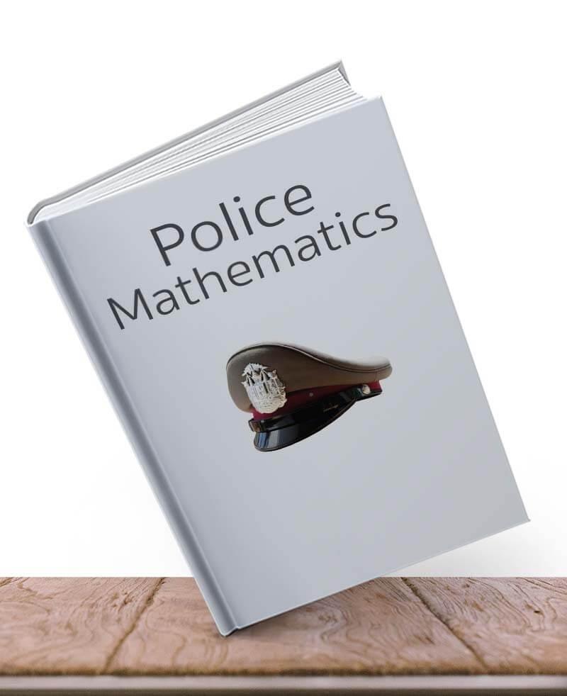 หนังสือคณิต ตำรวจ
